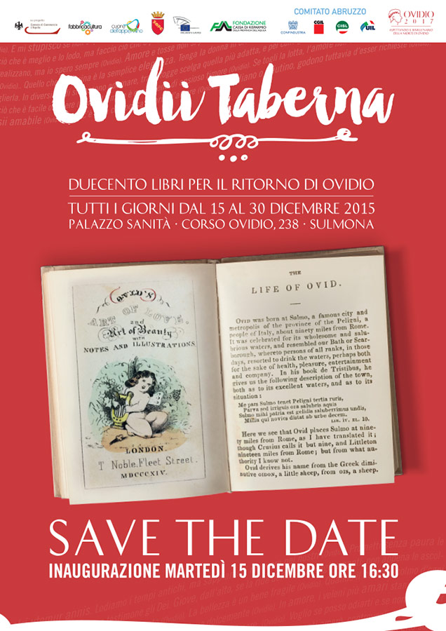 Save The Date Ovidio 2017